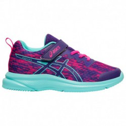Asics Gel Contend 4 Preschool Boys Running Shoes ASICS® Henka - Boys' Preschool Gentry Purple/Ice Mint