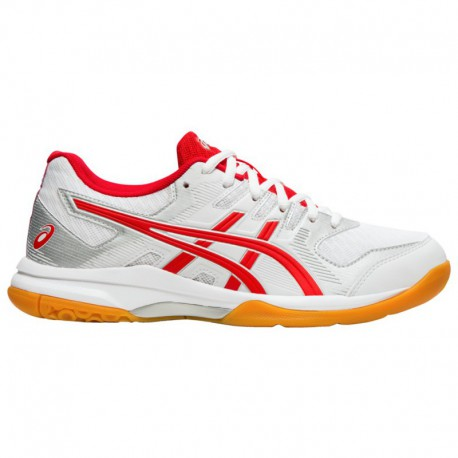 Mens Asics Gel Rocket ASICS® Gel-Rocket 9 - Women's White/Classic Red