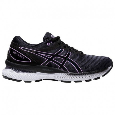 Cheap Asics Gel Nimbus ASICS® Gel-Nimbus 22 - Women's Black/Lilac Tech