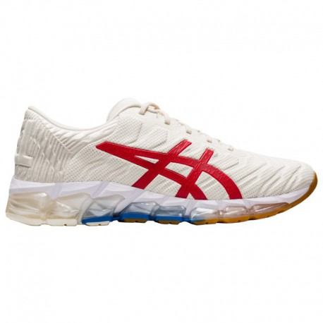 Asics Gel Quantum 360 White Mens ASICS® Gel-Quantum 360 5 - Men's White/Classic Red | Retro Tokyo