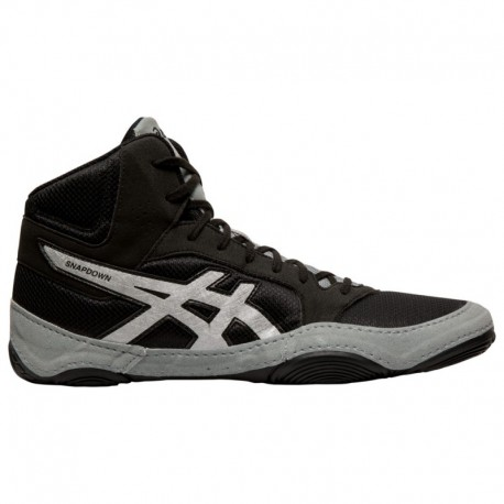 Asics Men's Snapdown Wrestling Shoe ASICS® Snapdown 2 - Men's Black/Silver