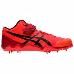 Asics Javelin PRO Flame Spikes ASICS® Javelin Pro 2 - Men's - Track & Field - Shoes - Red | Width - D - Medium | Right Hand Spe