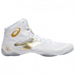 Asics Jb Elite 3 White Gold ASICS® Jb Elite IV - Men's - Wrestling - Shoes - White/Rich Gold White/Rich Gold | Width - D - Medi