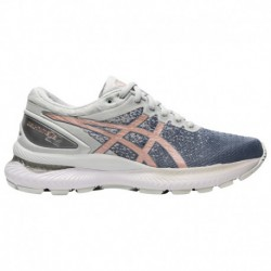 Asics Nimbus Rose Gold ASICS® Nimbus 22 Knit - Women's - Running - Shoes - Sheet Rock/Rose Gold Sheet Rock/Rose Gold | Width -
