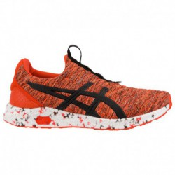 asics men s hypergel sai running shoes hypergel lyte sneaker by asics asics hypergel kenzen men s cherry tomato black