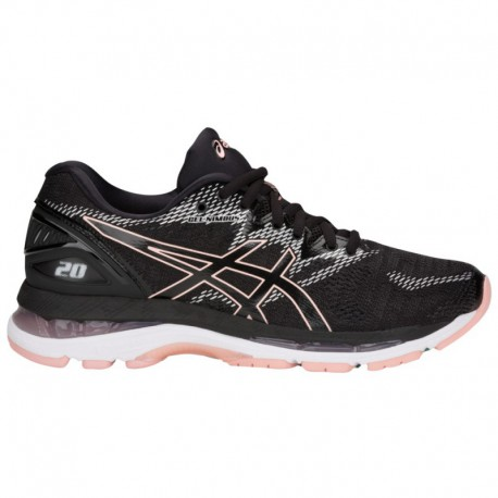 Asics Gel Nimbus Black Frosted Rose ASICS® Gel-Nimbus 20 - Women's Black/Frosted Rose