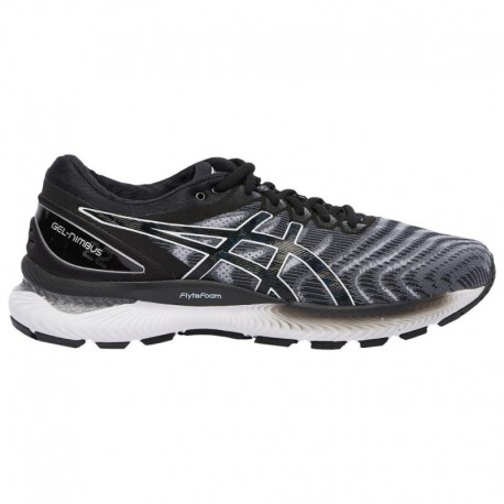White Asics Gel Nimbus ASICS® Gel-Nimbus 22 - Men's White/Black