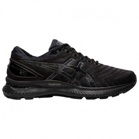 Asics Gel Nimbus 22 Black ASICS® Gel-Nimbus 22 - Men's Black/Black