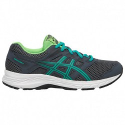 Asics Gel Contend 4 Grade School Boys Running Shoes ASICS® Gel-Contend 5 - Boys' Grade School Carrier Grey/Baltic