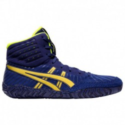 Asics Aggressor 4 White Rich Gold ASICS® Aggressor 4 - Men's Dive Blue/Rich Gold