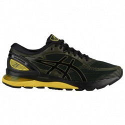 Asics Gel Nimbus Neon Yellow ASICS® Gel-Nimbus 21 - Men's Black/Neon Spark