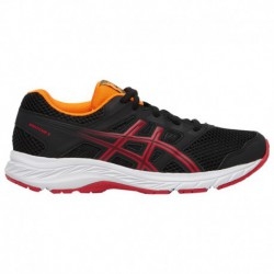 Asics Gel Contend 4 Grade School Girls Running Shoes ASICS® Gel-Contend 5 - Boys' Grade School Black/Speed Red