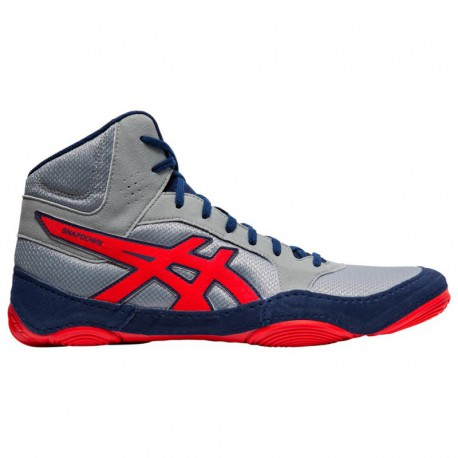 Asics Snapdown 2 Wide ASICS® Snapdown 2 - Men's Stone Grey/Classic Red